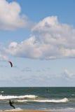 Kitesurfing Stock Image