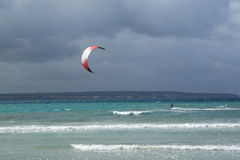 Kitesurfing Royalty Free Stock Images