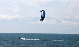 Kitesurfing Royalty Free Stock Photos