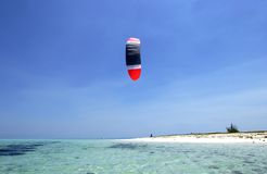 Kitesurfing Photos stock