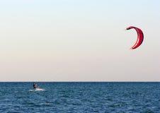 Kitesurfing. Egypt Stock Images