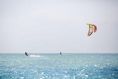 Kitesurfing Стоковое фото RF
