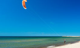 kitesurfing Photos stock