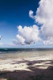Kitesurfing Boracay Imagens de Stock