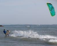 Kitesurfing Royalty Free Stock Photos