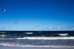 Kitesurfing Stock Photos