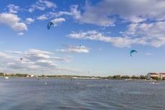 Kitesurfing Stock Images