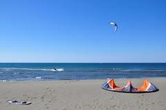 Kitesurfing Royalty Free Stock Image