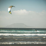 Kitesurfing Royalty Free Stock Photography