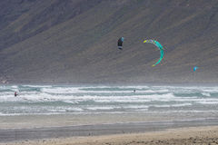 Kitesurfing Stock Photography