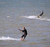Kitesurfing rywalizacja Fotografia Stock