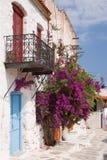 Kithira Island Houses royalty free stock image