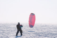Kiting Immagine Stock