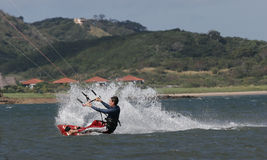 Kiting au Costa Rica 1 images stock