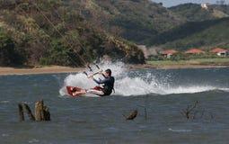 Kiting en Costa Rica 2 fotos de archivo