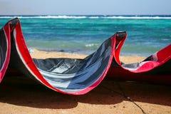 Kiting en Egipto imagen de archivo
