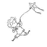 Kiting Stock Image
