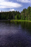 Kitkajoki river Stock Photography