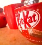 Kitkat mein Kaffee lizenzfreies stockbild
