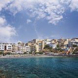 Kitroplateia plaża Crete Zdjęcia Stock