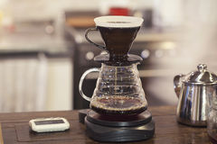 Kits for making fresh coffee Royalty Free Stock Photos