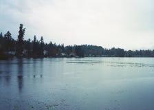 Kitsap Lake Park, Bremerton, Washington stock photo