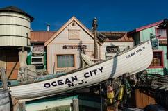 Kitsch del sentiero costiero fotografie stock libere da diritti