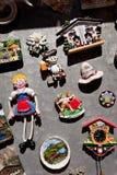 Kitschy souvenirs in mondsee, upper austria Royalty Free Stock Photos