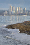 Kitsilano Beach, English Bay, Vancouver Stock Photo