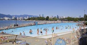 Kitsilano pool Royalty Free Stock Image