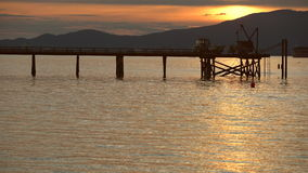 Kitsilano Sunset, British Columbia, Canada 4K UHD stock video