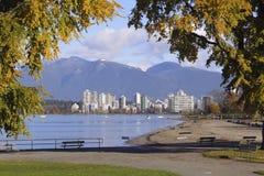 Kitsilano and Vancouver, Canada Stock Image