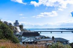 Kitsuki, префектура Oita, Япония 12-ое января: Вход к Kitsuki Стоковое Фото