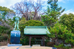 Kitsuki Oita prefektur, Japan-12 Januari: Ingången till Kitsuki Royaltyfri Fotografi
