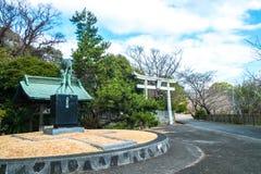 Kitsuki, Oita prefektura, Japan-12 Jan: Wejście Kitsuki Obrazy Stock