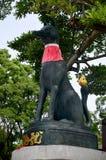 Kitsune or Fox statue at Fushimi Inari taisha shrine. Of Inari, Fushimi Ku in Kyoto, Japan Stock Photos