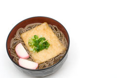 Kitsune soba noodles Royalty Free Stock Photos