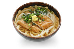 Kitsune udon, japanese noodle dish Royalty Free Stock Photography
