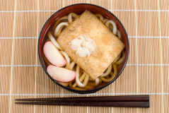 Kitsune udon noodles Stock Photography