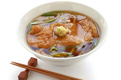 Kitsune udon noodles, japanese cuisine Stock Photo