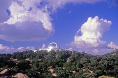 Kitt Peak National Observatory i Tucson, AZ royaltyfria foton