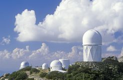 Kitt Peak National Observatory i Tucson, AZ fotografering för bildbyråer