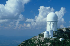 Kitt Peak National Observatory, Tucson, AZ Royalty Free Stock Photos