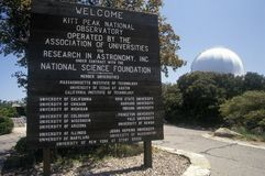 Kitt Peak National Observatory in Tucson, AZ Royalty Free Stock Photo