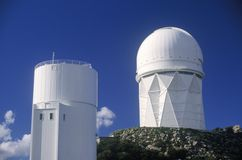 Kitt Peak National Observatory in Tucson, AZ Royalty Free Stock Photography