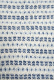 Kitted pattern. Beautiful knitted pattern, white and blue Royalty Free Stock Photography