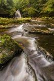 Kittelnedgångar, västra Burton, Yorkshire, UK Arkivbilder