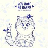 Kitten cute Stock Image