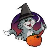 Kitten Halloween Stock Photography