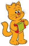 Kitten musician Royalty Free Stock Images